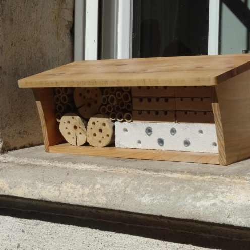 H tel insectes participez facilement la sauvegarde de for Hotel a insecte acheter